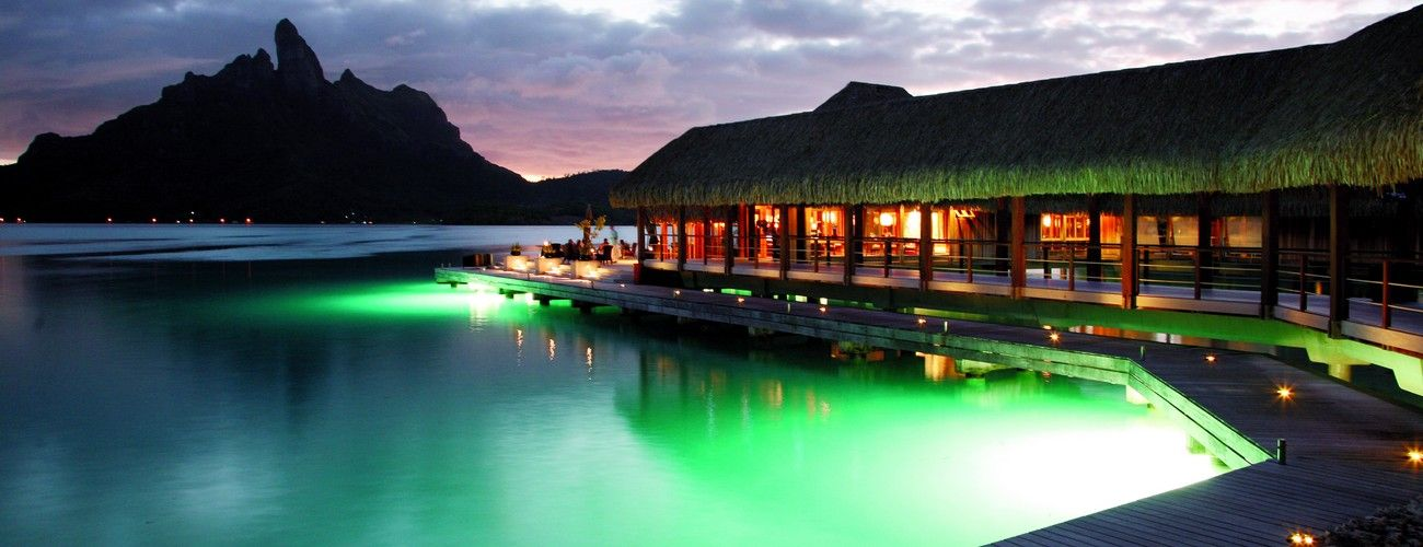 The St. Regis Bora Bora Resort - Lagoon Exterior