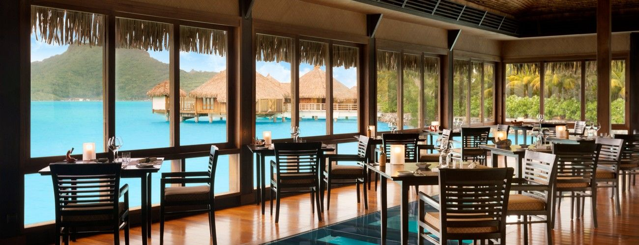 The St. Regis Bora Bora Resort - Lagoon Interior