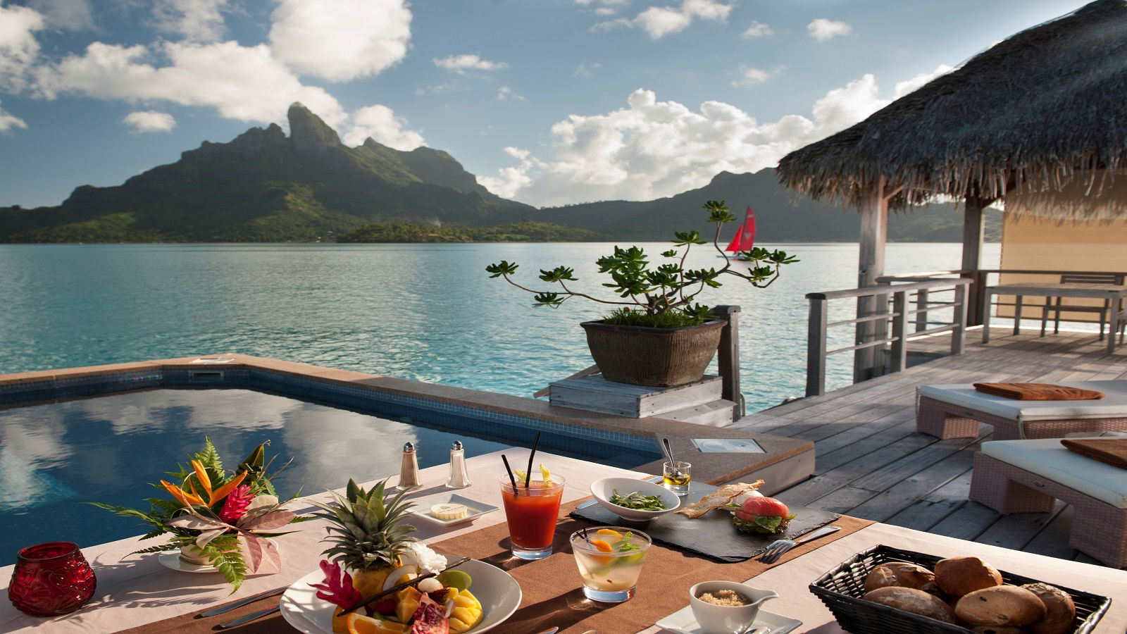 Private Breakfast in Villa