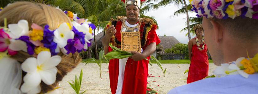 The St. Regis Bora Bora Resort - Wedding