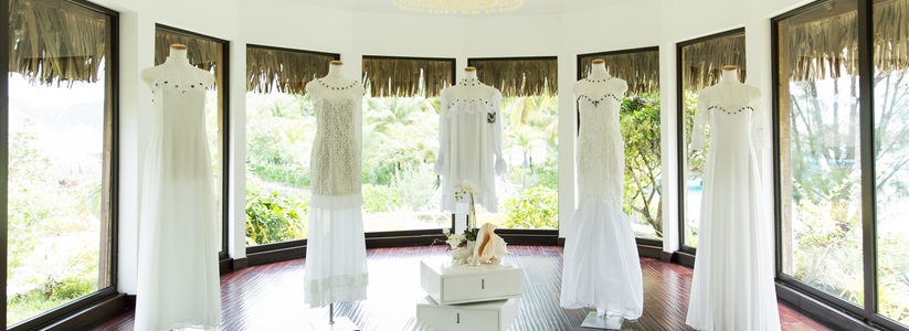 The St. Regis Bora Bora Resort - Bridal Boutique