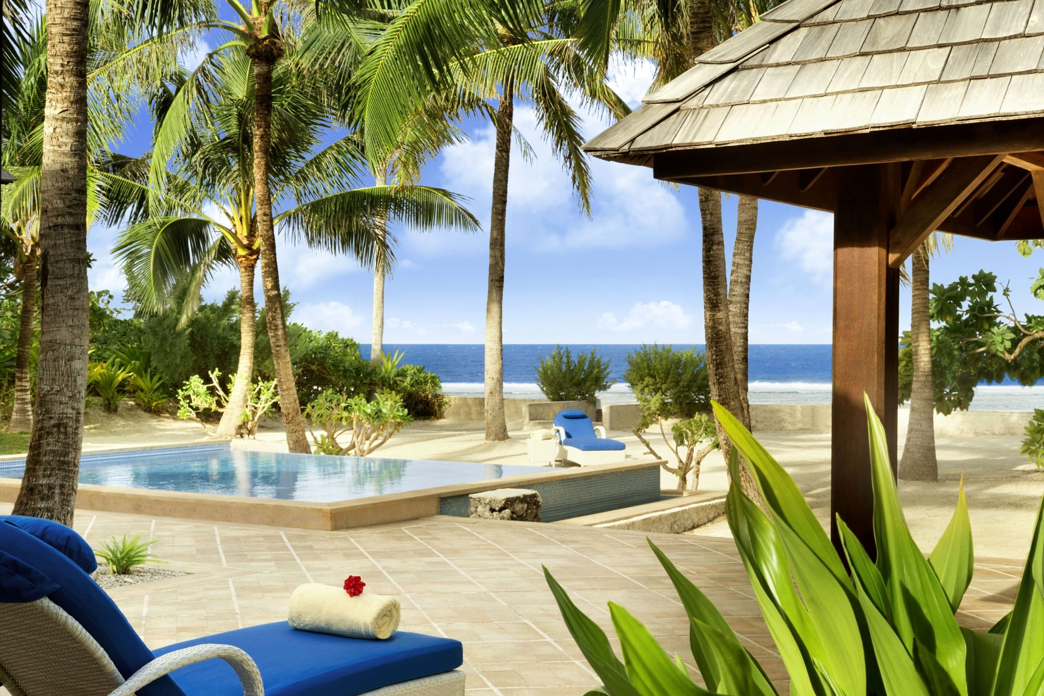 The St. Regis Bora Bora Resort - Reefside Royal Garden 2-Bedroom Villa with Pool